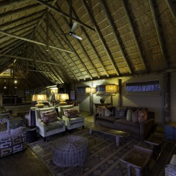 Banoka Bush Camp lounge by Dana Allen
