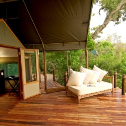 Stanleys Camp veranda