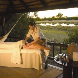 Khwai River Lodge spa