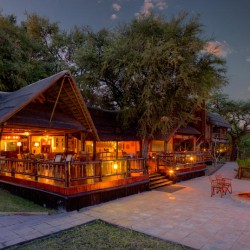 Khwai River Lodge main lodge