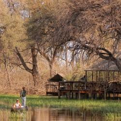 Khwai Tented Camp mokoro