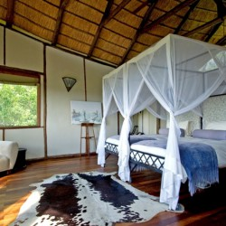 Baines Camp bedroom interior