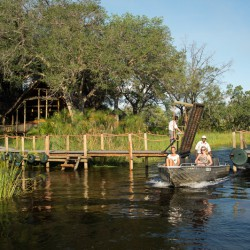 Xigera Camp bridge by Dana Allen