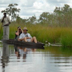 Baines Camp mokoro trip