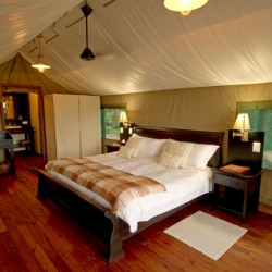 Stanleys Camp bedroom interior