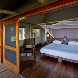 Xigera Camp bedroom by Dana Allen