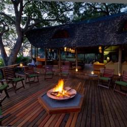 Xigera Camp fire pit by Dana Allen