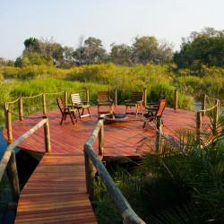 Xigera Camp deck by Dana Allen