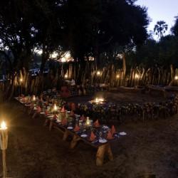 Xigera Camp dining by Dana Allen