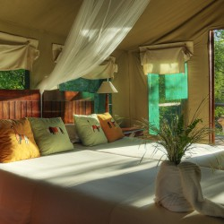 Camp Moremi Bedroom interior
