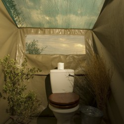 Khwai Tented Camp toilet