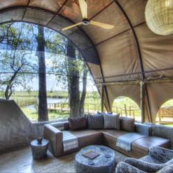 Okuti lounge area