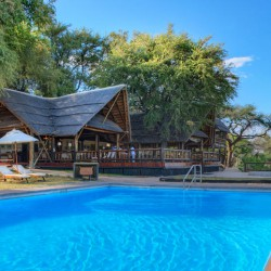 Khwai River Lodge swimming pool