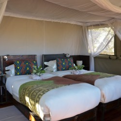 Sango Safari Camp bedroom interior